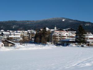 Malerisch gelegen: Der Tourismusort Bodenmais