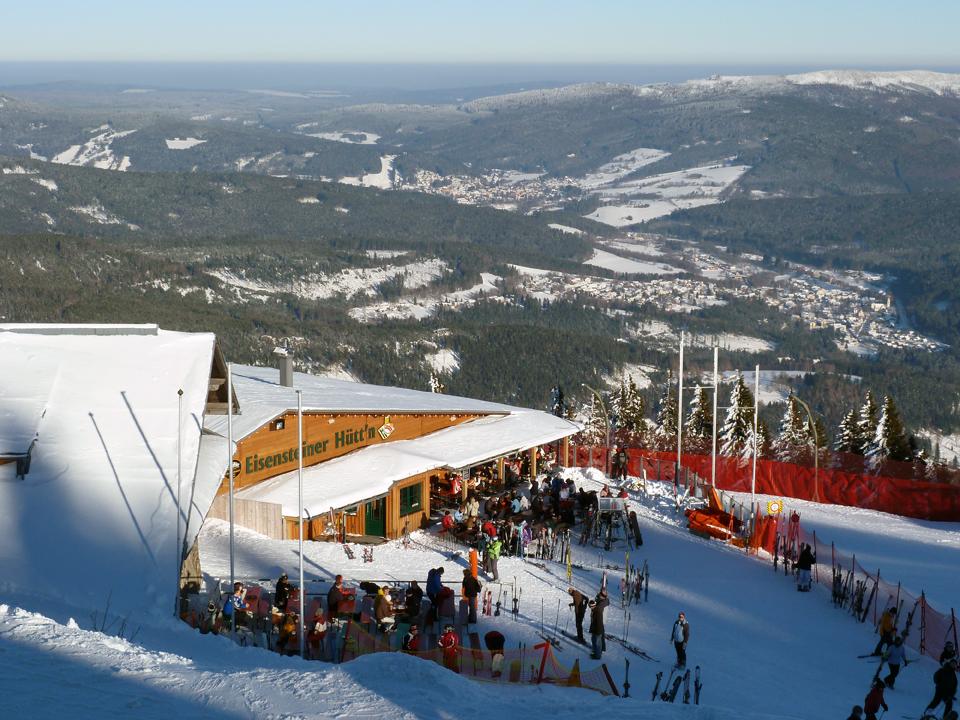 Blick vom Großen Arber im Bayerischen Wald