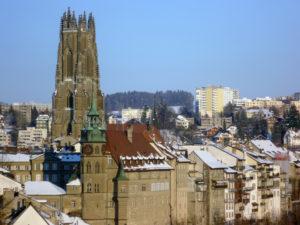 Fribourg liegt an der deutsch-französischen Sprachgrenze