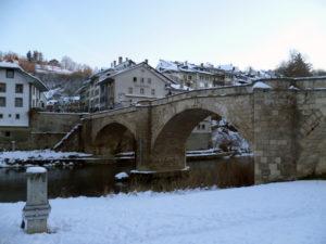 Fribourg ist die Stadt der Brücken