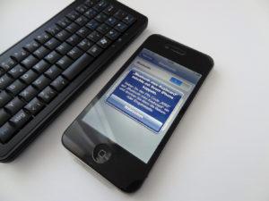 Das Pocket Bluetooth Keyboard von Sandberg (Foto: nurido.eu)