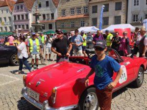 TV-Liebling Tobias Moretti war mit seinem Sohn nach Steyr gekommen.