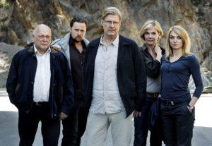 Rolf Lassgård (Mitte) spielt den Profiler Sebastian Bergman (Foto: Edel:Motion/Glücksstern-PR)
