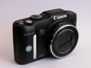 Auch günstige Digitalkameras (wie die Canon PowerShot SX 160 IS) bieten heute eine Top-Leistung! (Foto: nurido.eu)