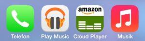 Die drei führenden Cloud-Musikdienste auf dem Prüfstand.