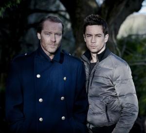 Iain Glen (links) und  sein Co-Star Killian Scott