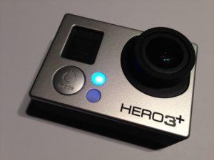Per WiFi kann die GoPro Hero 3 + von einem Smartphone aus gesteuert werden