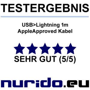 Sandberg Lightning Kabel