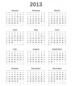 Ein Kalender hilft dabei, das Leben zu organisieren