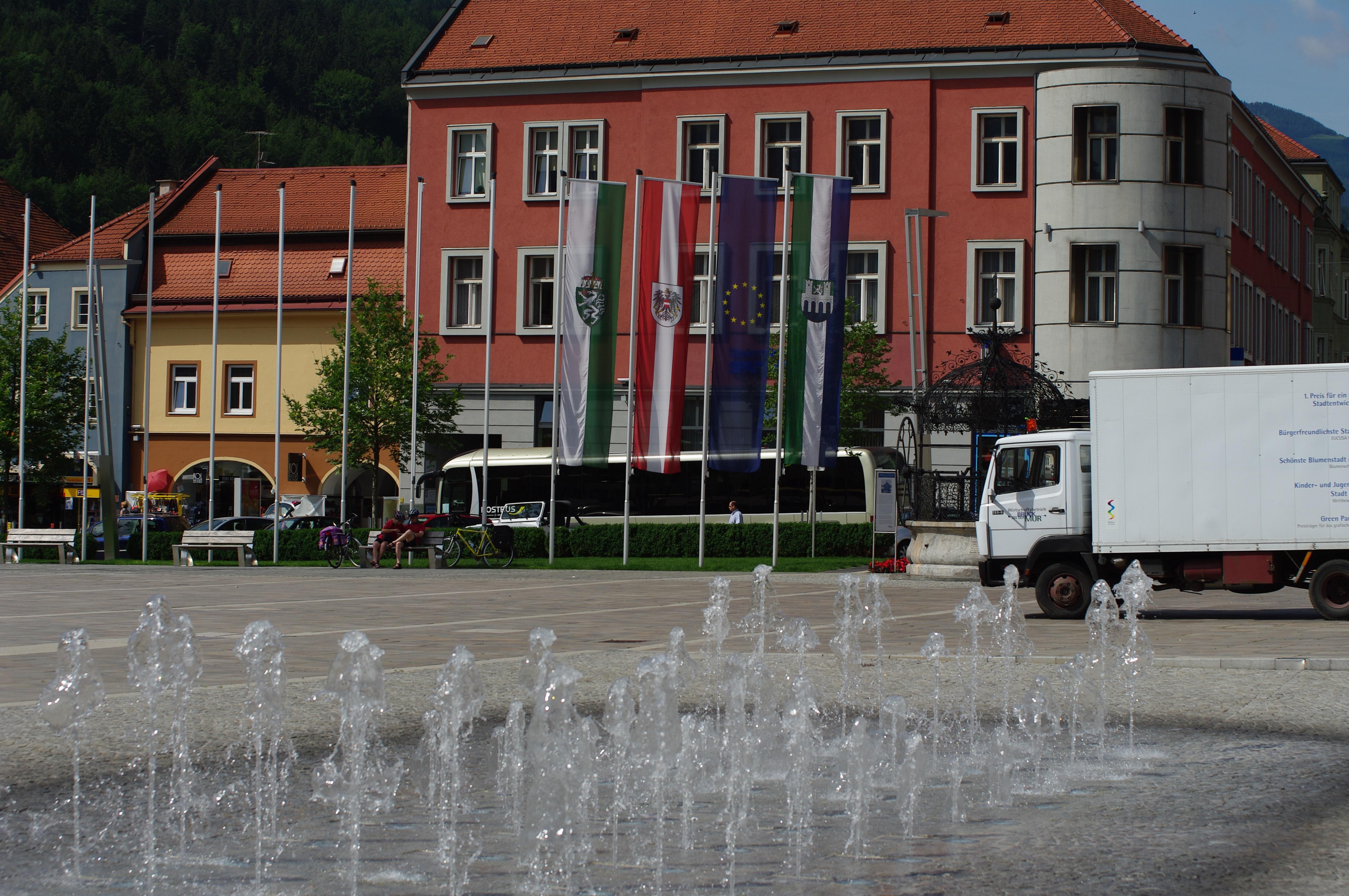 Die sympathische Kleinstadt Bruck an der Mur