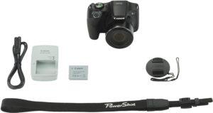 Die neue Megazoom-Kamera Canon PowerShot SX520 HS (Foto: Amazon.de)