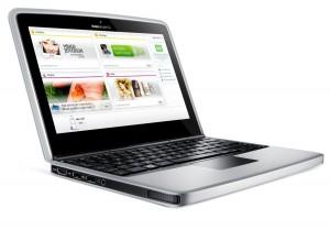 Das Nokia Booklet 3G Netbook mit integriertem Modem für mobiles Breitbandinternet