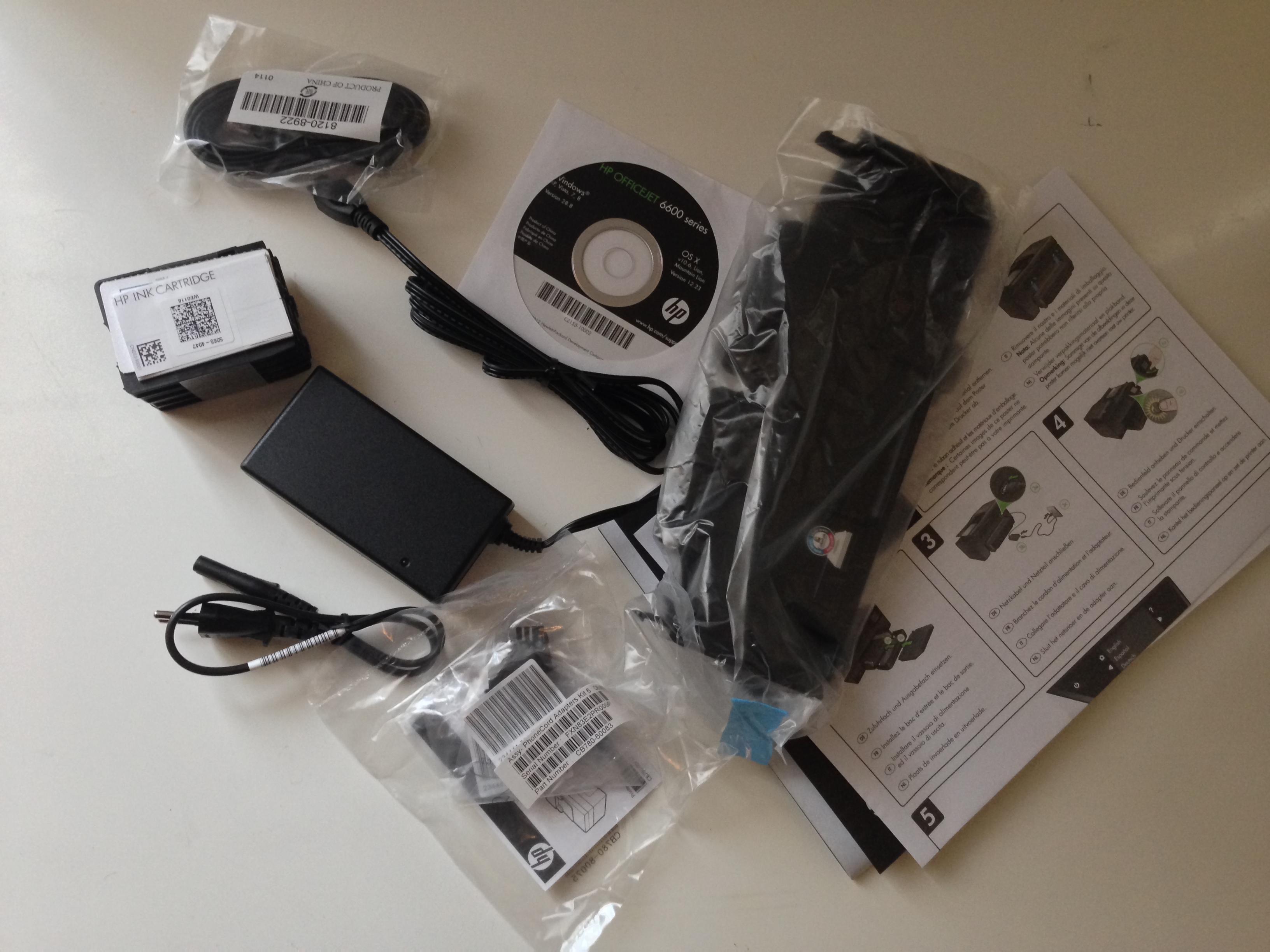 wireless drucker mit scanner und fax im review der test des hp officejet 6600 e all in one. Black Bedroom Furniture Sets. Home Design Ideas