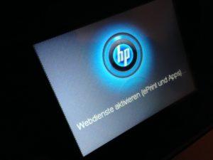 Der HP Officejet 6600 funktioniert auch über das Internet bzw. per App