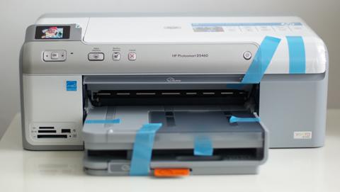 Der HP Photosmart D5460