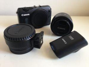 Die Canon EOS M gehört zur Gattung der Systemkameras