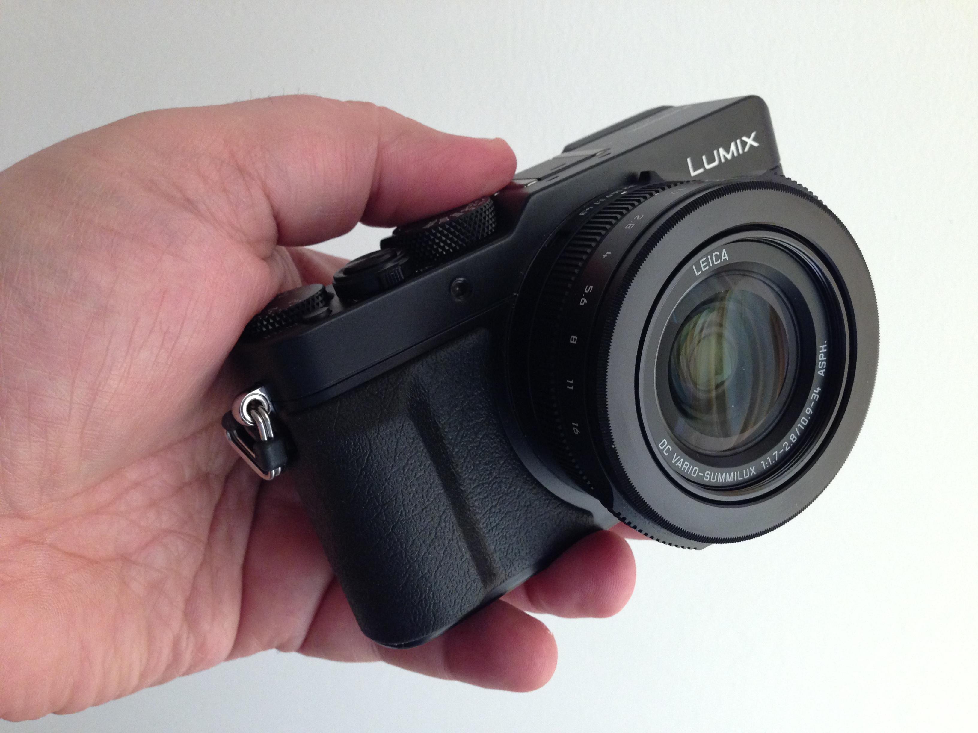 Die Panasonic Lumix DMC-LX100 gilt als beste Kompaktkamera bisher