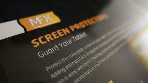Der Screen Protector von MFX für das iPad Mini 4