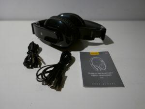 Das Olixar X2 Pro Bluetooth Stereo Headset lässt sich auch mit einem Kopfhörerkabel betreiben
