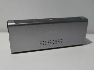 Die Inateck Mercury Box ist komplett aus Alu