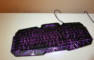 Die Sandberg Thunderstorm-Tastatur für Gamer