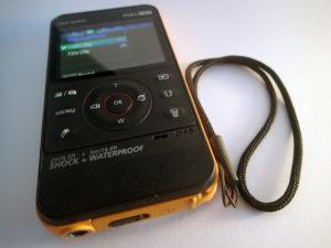 Die Samsung HMX-W300 Kamera